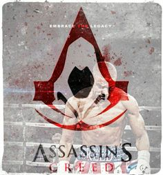 #AssassinsCreed:  As an assassin in the ring, Desmond's breed is in #Adonis' genes. #STEELYourMind #Creed #DesmondMiles