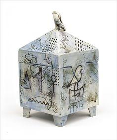 'Letting go' Egyptian Series Dream Box by Catherine Brennon www.underbergstudio.co.za