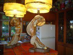 1951 Nino of California lamps