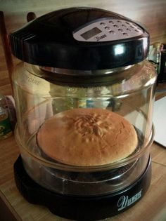 Larry G. took a standard boxed cake mix and spruced it up to bakery quality! Halogen Oven Recipes, Convection Oven Recipes, Nuwave Oven Recipes, Convection Cooking, Oven Cooking, Easy Cooking, Cooking Recipes, Nu Wave Recipes, Nu Wave Oven