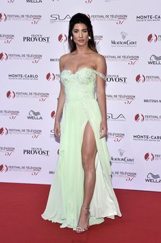Jacqueline MacInnes Wood Photos Photos - Jacqueline MacInnes Wood attends the Monte Carlo TV Festival Opening Ceremony on June 2017 in Monte-Carlo, Monaco. Monte Carlo, Heather Tom, Jacqueline Macinnes Wood, Strapless Dress Formal, Formal Dresses, Canadian Actresses, Photo On Wood, Opening Ceremony, Awards