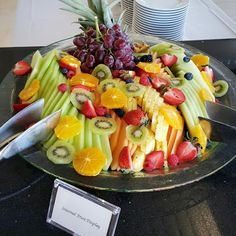 Fresh and fancy fruit display at a #TrumpWaikiki wedding reception. #WeddingWednesday #Waikiki #Hawaii #Reception #Destination #Wedding #Venue #Fresh #Fruit #Healthy Trump International Hotel Waikiki Beach Walk - Google+