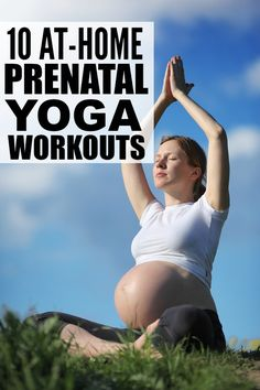 If you're looking for ways to promote relaxation and a sense of calm to help you deal with the discomforts of pregnancy, this collection of at-home prenatal yoga workouts is for you!