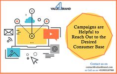 We at helps to generate leads through Brand Campaign, Reputation Management, To Reach, Lead Generation, Chart