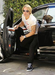 Keith Urban Photos: Celebs Arrive for 'American Idol'