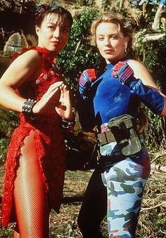 Fighting flashback: Ming-Na Wen and Kylie Minogue starred in the 1994 Street Fighter movie, which was filmed on the Gold Coast in Australia Street Fighter Movie, Cammy Street Fighter, Kylie Minogue, Asian Superheroes, Leon Matilda, Melinda May, Ming Na Wen, Chloe Bennet, Street Fights