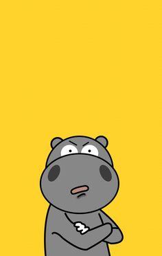 The Hama 하마 캐릭터