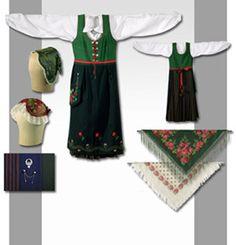 Norrbottensdräkt 1912 för Torne och Kalix älvdalar Norwegian Clothing, Swedish Fashion, Folklore, Sweden, Costumes, Tie, Traditional, Clothes, Culture