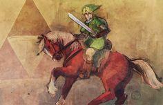 Legend of Zelda by an-jie.deviantart.com on @deviantART