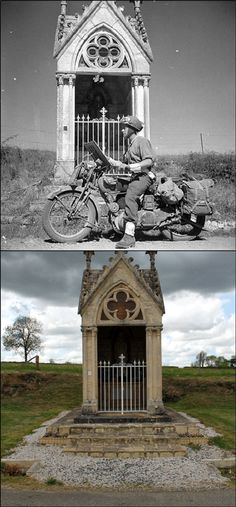 The shrine at Fresney-le-Puceux, Normandy – © Ian R Gumm, 2014