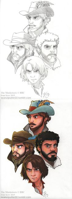The Musketeers fan art Bbc Musketeers, The Three Musketeers, Bbc Tv Shows, The Garrison, Bbc Drama, Brothers In Arms, Farm Boys, King And Country, Bbc One