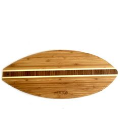 Mato Eco-friendly Bamboo Wood Countertop Cutting Board In Surfboard Shape…