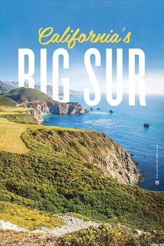 Travel this wonderland like landscape at California's Big Sur.