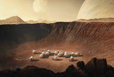 Arquitectura en Marte: Proyectos para habitar el planeta rojo Archdaily Mexico, Life In Space, Planet Design, Open Architecture, Red Planet, Mars Planet, Life On Mars, Zaha Hadid, Alps