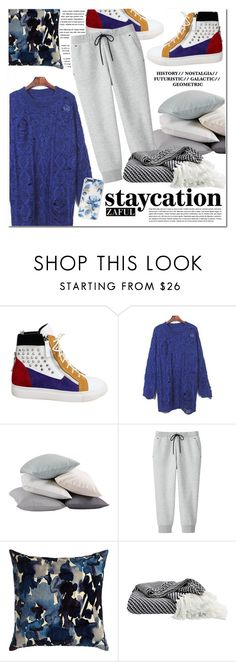 """Cozy Staycation Style"" by vanjazivadinovic ❤ liked on Polyvore featuring Coyuchi, Uniqlo, Aquarelle, Sonix, polyvoreeditorial, staycation and zaful"