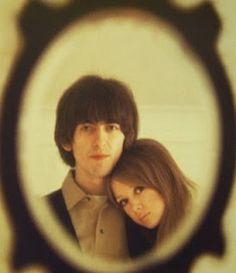 Pattie Boyd y George Harrison