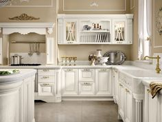 Best Classic Kitchens of Great Design Home Design, Interior Design, Elegant Kitchens, Cool Kitchens, Dream Kitchens, Neutral Colour Palette, French Farmhouse, Trends, Kitchen Cabinets