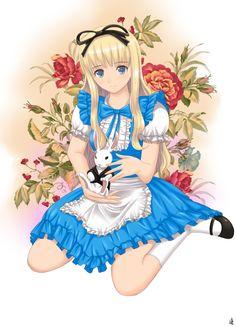 http://static.zerochan.net/Alice.In.Wonderland.full.1248995.jpg
