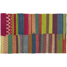 motley rug | CB2