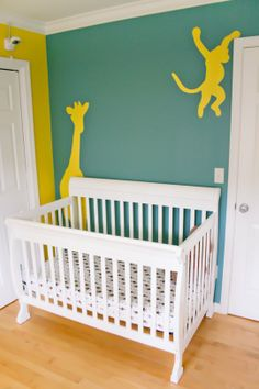 A mobile would be a great addition over the crib.