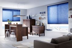 #duette #leha #küche #wohnzimmer pinned by www.wagner-fenster.at