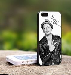 Bruno Mars Signature - For iPhone 5 Black Case Cover on Wanelo