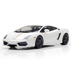 F/S AUTOart LAMBORGHINI GALLARDO LP550-2 Valentino Balboni White 1/18 Model Car #AUTOart #LAMBORGHINI