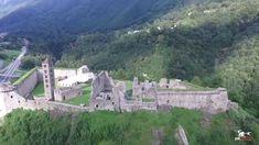 Rovine Castello di Mesocco - Castle Switzerland - Drone Pixaround - YouTube Switzerland, Monument Valley, Mount Rushmore, Mountains, Castles, Nature, Travel, Club, Youtube