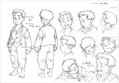 Living Lines Library: Steamboy - Model Sheets https://www.facebook.com/CharacterDesignReferences