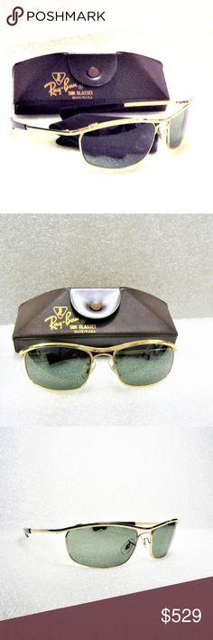 293853f5469c8 Ray-Ban USA B amp L EZ Rider Olympian I DLX Sunglasses  Rare Vintage