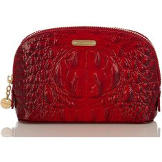 Brahmin Tina Cosmetic Case found on Polyvore