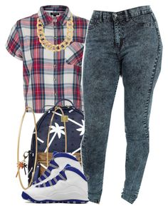 """""""july 20 2k14"""" by xo-beauty ❤ liked on Polyvore featuring Topshop, MCM, Social Anarchy, Retrò and 10 Bells"""