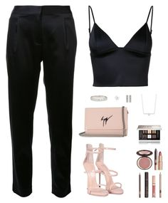 """""""Sin título #4345"""" by mdmsb on Polyvore featuring moda, T By Alexander Wang, Giuseppe Zanotti, Charlotte Tilbury, Givenchy y Messika"""