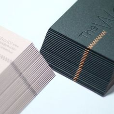Copper foil. Duplexed business cards. Black and copper foil stamping. Printed by www.dot-studio.org