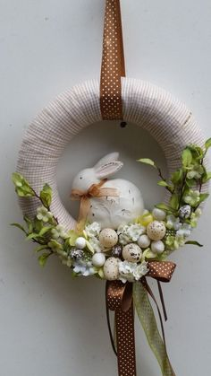 1 million+ Stunning Free Images to Use Anywhere Christmas Advent Wreath, Christmas Crafts, Easter Projects, Easter Crafts, Easter Wreaths, Holiday Wreaths, Easter Celebration, Spring Crafts, Diy And Crafts