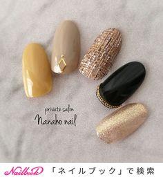 ネイル ネイル in 2020 Classy Nails, Cute Nails, Pretty Nails, Accent Nail Designs, Nail Art Designs, Manicure Colors, Nail Colors, Wonder Nails, Gel Nails