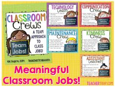 A new take on classroom jobs