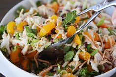Light and refreshing and completely delicious, this scrumptious chicken and mandarin orange salad is simple to make and perfect for summer!