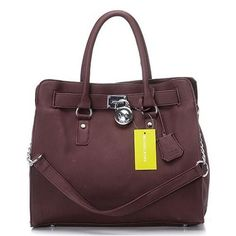 Michael Kors Hamilton Large Coffee Totes