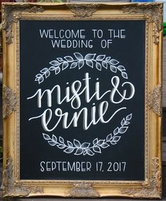 3 Easy Cost Effective Ways To Make Diy Chalkboard Wedding Signs Extra Ideas Guest Book Memorial Table And Etc Pinterest