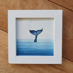 Simple Canvas Paintings, Easy Canvas Art, Small Canvas Art, Mini Canvas Art, Easy Canvas Painting, Cute Paintings, Body Painting, Watercolor Whale, Abstract Watercolor