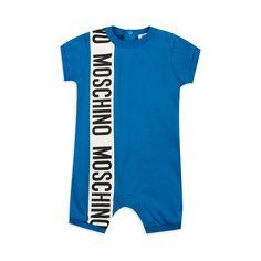 b1b1e1d70934 Baby Boys Bold Logo Shortall - Blue by Moschino
