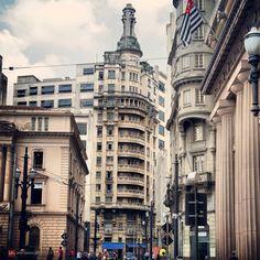 Edificio Rolim (center) at Se Square  Sao Paulo - Brazil