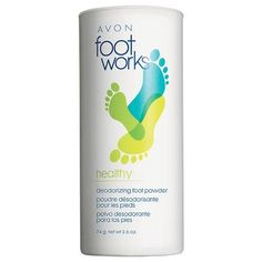 Foot Works Healthy Deodorizing Foot Powder
