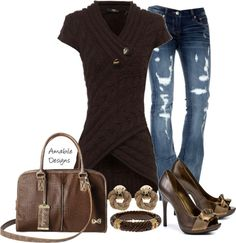 """Chocolate Delight"" by amabiledesigns on Polyvore"