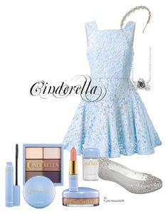 Cinderella Disney Bound by carlyamanda58 on Polyvore featuring Alex Perry, Melissa, Belk Silverworks and Jennifer Behr