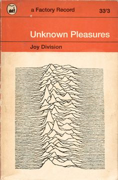 Joy Division / Unknown Pleasures / Not Penguin Books Rock Posters, Band Posters, Concert Posters, Factory Records, Illustration Photo, Peter Saville, Ian Curtis, Unknown Pleasures, Pochette Album