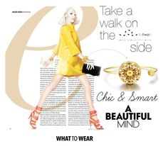 """Walk Life"" by lovaconsultancy on Polyvore featuring mode, WearableTech, totwoo et smartjewelry"