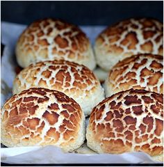 Dutch Crunch Bread or Tijgerbrood    OMG!!!!! I had this at Little Lucca's (sp.?) in San Fran!!!!  @Holland Valdez!!!!! LOOK!  Make Alex make it!