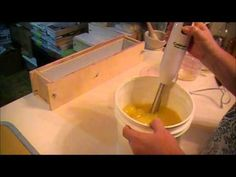 Eggs and Buttermilk and Stamping Cold Process Soapmaking - YouTube